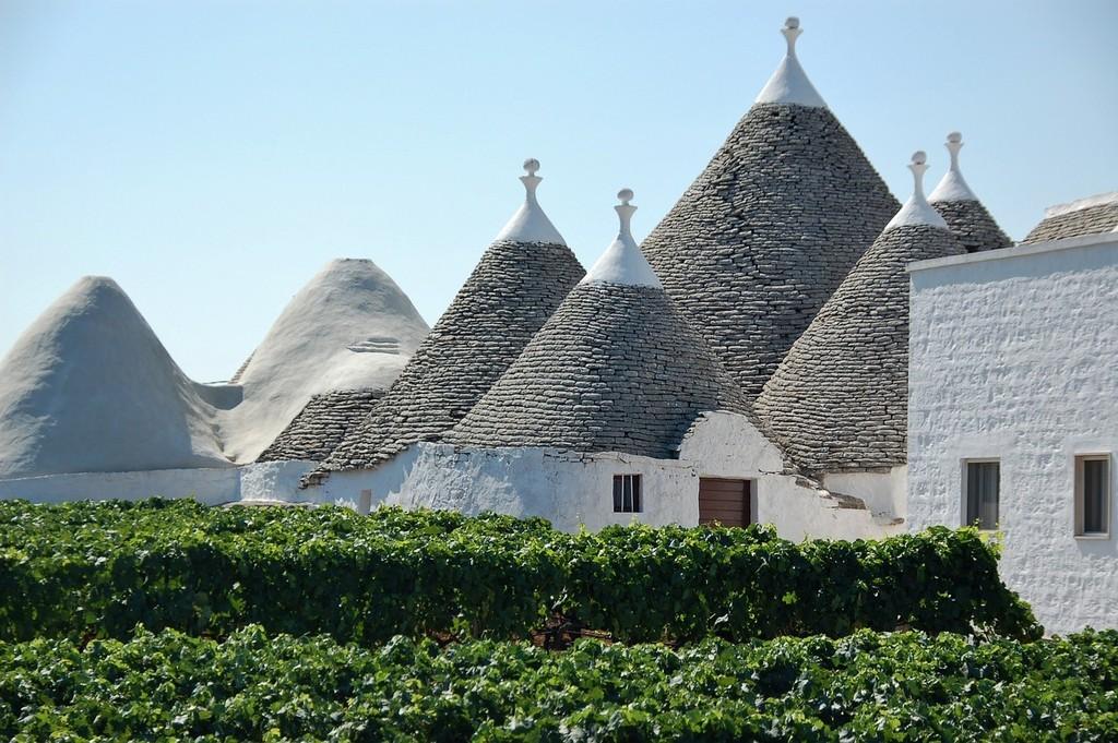 Bari - domy z kamienia