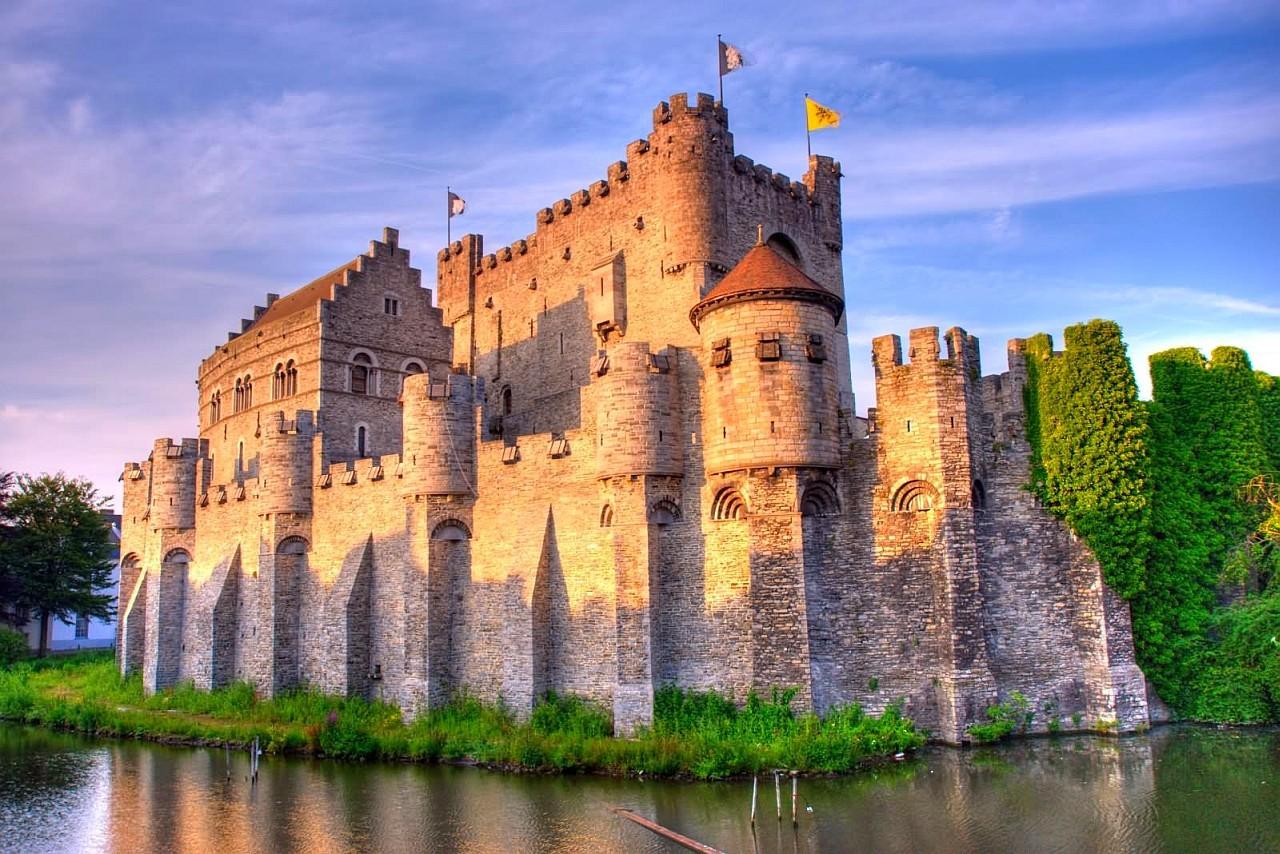 zamek Gravensteen