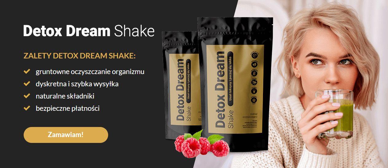 Zdrowy shake oczyszczający